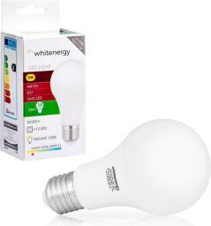 Whitenergy żarówka LED E27, 10 x SMD 2835, 5W, ciepła biała, A60 (10387)