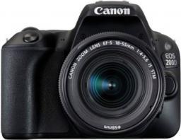 Lustrzanka Canon EOS 200D 18-55 DC III