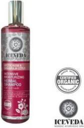 Iceveda Intensywnie nawilżający szampon ziołowy z różą arktyczną i lotosem 280ml