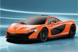 Jamara McLaren P1 1:24 27Mhz, pomarańczowy (405104)
