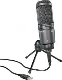 Mikrofon Audio-Technica (AT2020 USB) + Kondensator Mikrofon (AT2020 USB+)