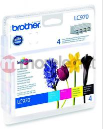 Brother zestaw tuszy oryginalnych LC-970VALBP Value Pack