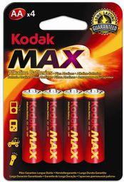 Kodak Bateria Max AA / R6 4szt.
