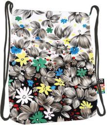 St. Majewski Plecak Stright SO-11 Flowers Black