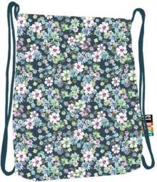 St. Majewski Plecak na sznurkach Stright SO-11 Flowers Green