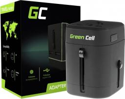 Ładowarka Green Cell Przejściówka do Gniazdka Elektrycznego 2xUSB (AK40)