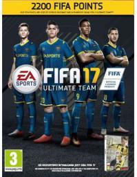 FIFA 17 kod doładowujący 2200 Punktów