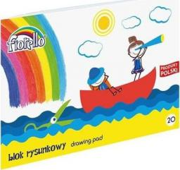 Fiorello Blok rysunkowy A4 20k biały