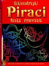Szkicozdrapki. Piraci. Nauka rysowania - 101597