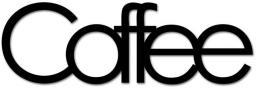 DekoSign Napis na ścianę 3D COFFEE czarny (COFFE1-1)