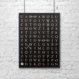 DekoSign Plakat dekoracyjny 50x70 cm DO WHAT YOU LOVE czarny DS-PL10-1 - DS-PL10-1