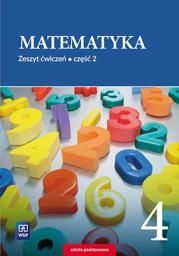 Matematyka SP 4/2 ćw. WSIP - 251382