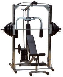 Body-Solid Stacja treningowa Multipress PSM144XS srebrna (10304)