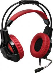 Słuchawki Redragon Lester Black/Red (QMRGM02EGR00)