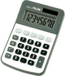 Kalkulator Milan Kalkulator 8 pozycji mały szary MILAN - 158607