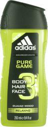 Adidas Pure Game Żel pod prysznic i szampon do włosów 2w1 250ml