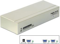Delock Spliter VGA audio i wideo 450 MHz (87654)
