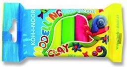 Koh-I-Noor Plastelina fluorescencyjna 5 kolorów (248950)