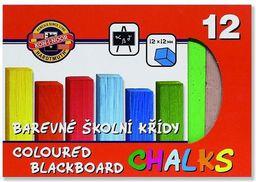 KOH-I-NOOR Kreda kolorowa do tablic 12 kolorów