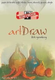 Blok biurowy Koh-I-Noor Blok rysunkowy Art Draw A4/50 arkuszy 150g  (174888)
