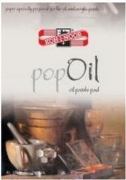 Blok biurowy Koh-I-Noor Pop Oil A4, 10 arkuszy,  250g (208836)