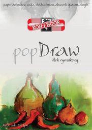 Blok biurowy Koh-I-Noor Blok rysunkowy Pop Draw A4/30 arkuszy 180g (238848)