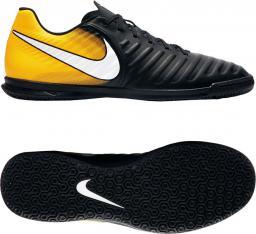 Nike TIEMPO X RIO IV IC (897769) - Buty halowe; r. 43 kolor czarno-pomarańczowy (14297)