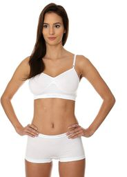 Brubeck Biustonosz Comfort Cotton biały r. 70A (BR00012A)