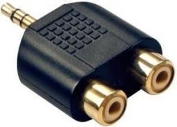 Adapter AV Lindy   2 x RCA -  3.5mm  (35624)