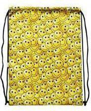Mesio.pl Worek szkolny plecak Emoji żółty (245768)