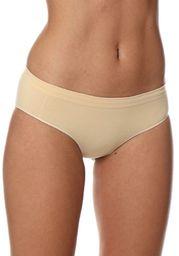 Brubeck Figi damskie Hipster HI00043A Comfort Cotton beżowe r. S