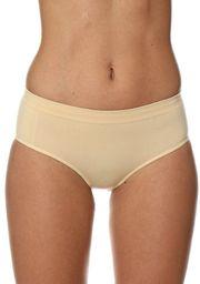Brubeck Majtki damskie Hipster Classic Comfort Cotton beżowe r. S (HI00090A)