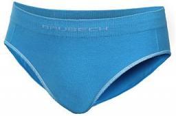 Brubeck Majtki biodrówki dziewczęce Comfort Cotton Junior niebieskie r. 128/134 (HI10140)
