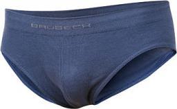 Brubeck Slipy chłopięce Comfort Cotton Junior niebieskie indygo r. 140/146 (BE10060)