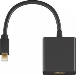 Kabel MicroConnect DisplayPort Mini HDMI, 0.15, Czarny (MDPHDMIB)