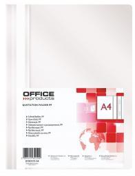 Skoroszyt Office Products SKOR.OFFICE PRODUCTS A4 BIAŁY SKOROSZYT - 21101111-14