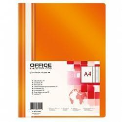 Skoroszyt Office Products SKOR.OFFICE PRODUCTS A4 POMARAŃCZOWY SKOROSZYT - 21101111-07