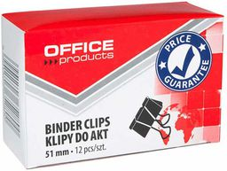 Office Products SPINACZ KLIPS OFFICE PRODUCTS 51MM 12SZT  - 18095119-05