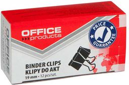 Office Products SPINACZ KLIPS OFFICE PRODUCTS 19MM 12SZT  - 18091919-05
