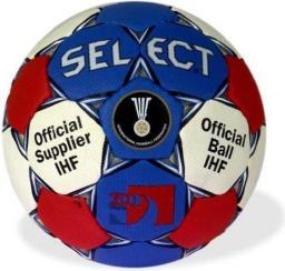 Select Piłka ręczna Croatia replika biało-niebiesko-czerwona r. 1 (05005)