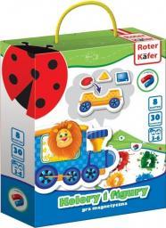 Roter Kafer Magnetyczna gra Kolory i figury