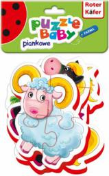 Roter Kafer Baby puzzle Farma