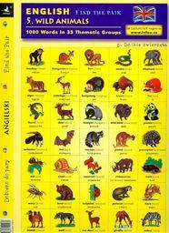 English. Find the pair. Wild animals