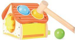Playme Domek z młotkiem do wbijania kulek - 251746