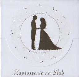 Pol-Mak Zaproszenie na ślub złote  (ZKW_SL_40626)