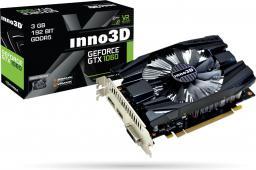 Karta graficzna Inno3D GeForce GTX1060 Compact 2 3GB (192 Bit) DVI-D, HDMI, DisplayPort, BOX (N1060-6DDN-L5GM)
