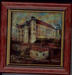 Dosłońce Kraków - Wawel - Obrazek w ramce 10x10