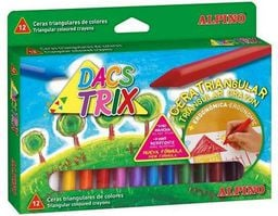 Alpino Kredki woskowe Dacstrix 12 kolorów