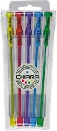 Spark Line Długopis Chiara 0.7mm 5 kolorów etui (165676)