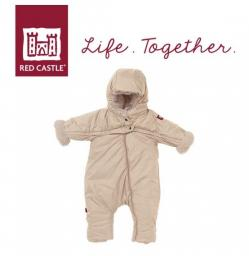 Red Castle Kombinezon zimowy Combi T-ZIP 6-12m Heather Beige (0827155)